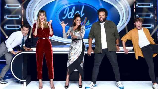 El equipo de 'Idol Kids'
