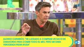 Alonso Caparrós en 'Sálvame'
