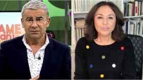 Jorge Javier Vázquez e Isabel Gemio en montaje de BLUPER.