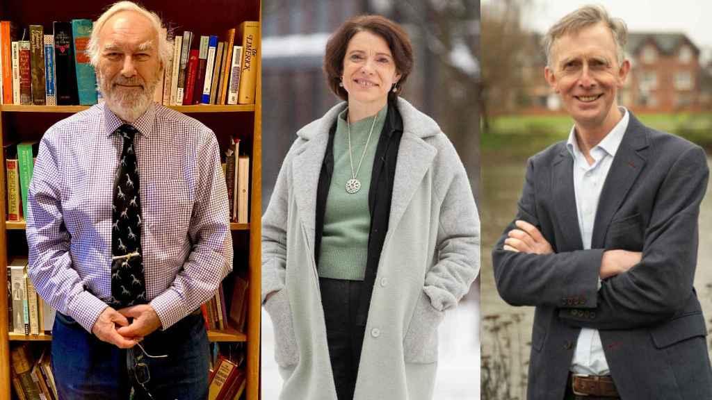 Los geógrafos Neil Adger, Ian Burton y Karen O'Brien, Premios Fundación BBVA en Cambio Climático