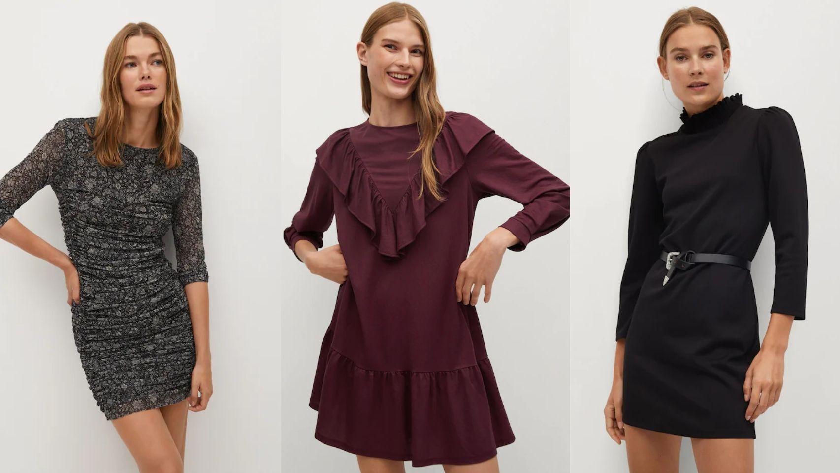Nueve vestidos de Mango por 20 euros que no puedes dejar escapar.