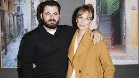 Carola Baleztena y Emiliano Suárez juntos en un evento en Madrid en febrero del año pasado.