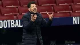 El 'Cholo' Simeone, en la banda del Wanda Metropolitano