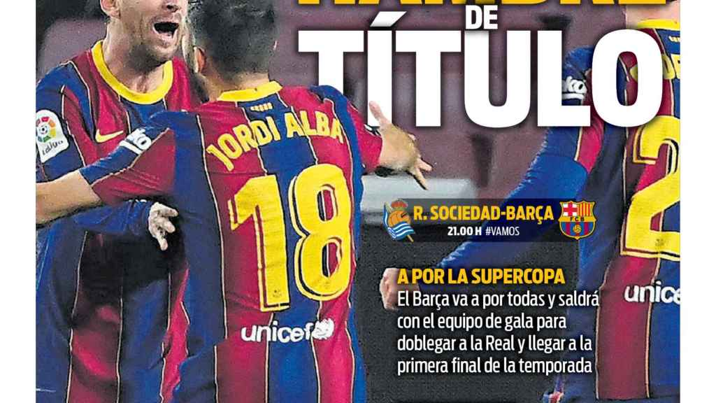 Portada Sport (13/01/21)