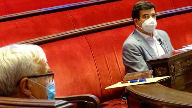Joan Ribó, alcalde de Valencia; y Fernando Giner, portavoz de Ciudadanos. EE