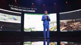 Lisa Su, presidenta y CEO de AMD, durante su conferencia en CES 2021.