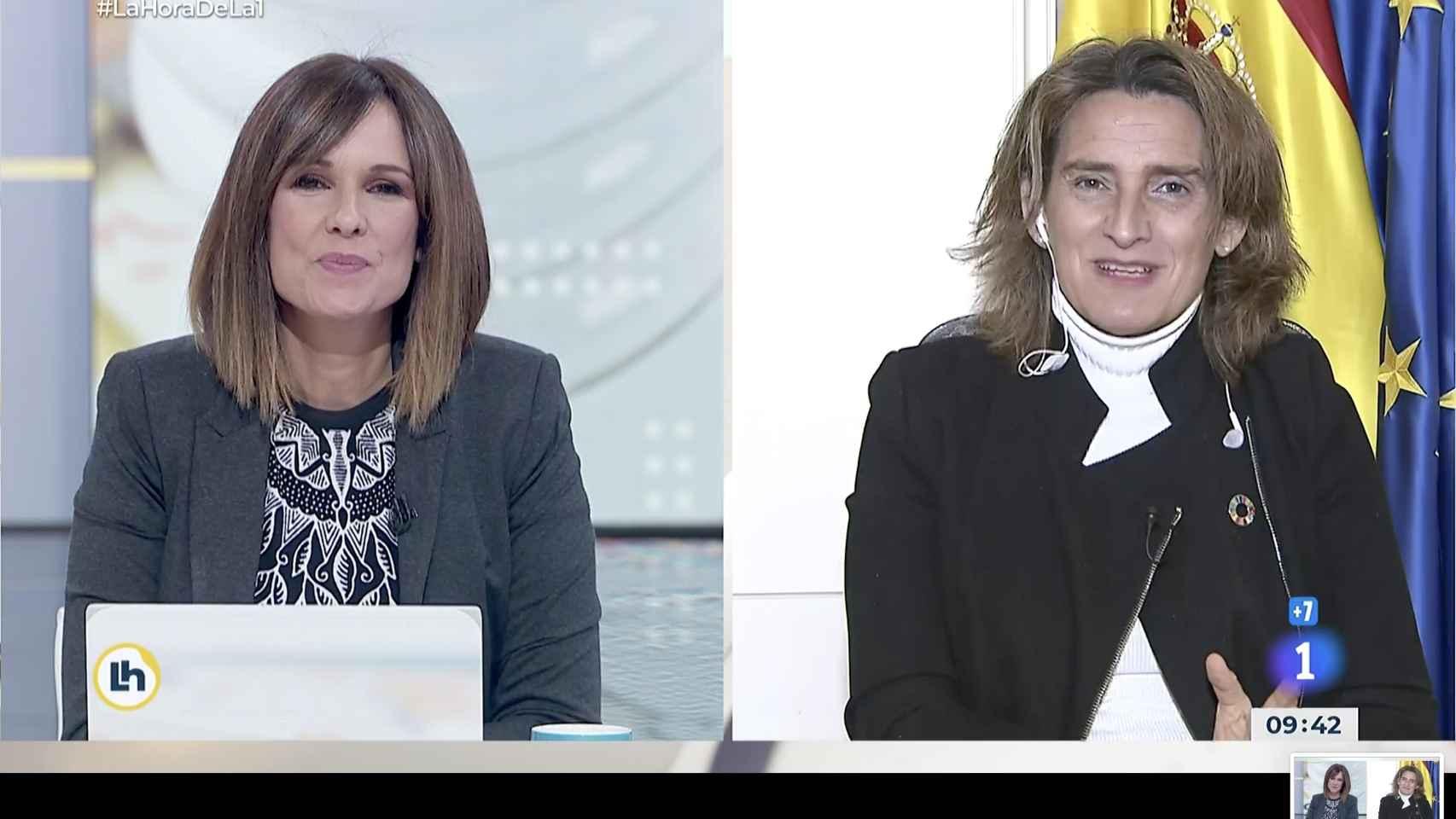 Teresa Ribera: Veremos qué alternativa de intervención en el mercado es más segura