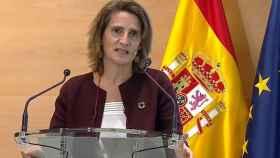 Teresa Ribera asegura a los inversores que España no se plantea una eléctrica estatal