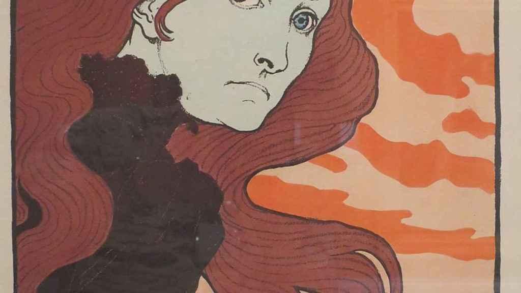 'La Vitrioleuse' de Eugène Grasset, 1894.