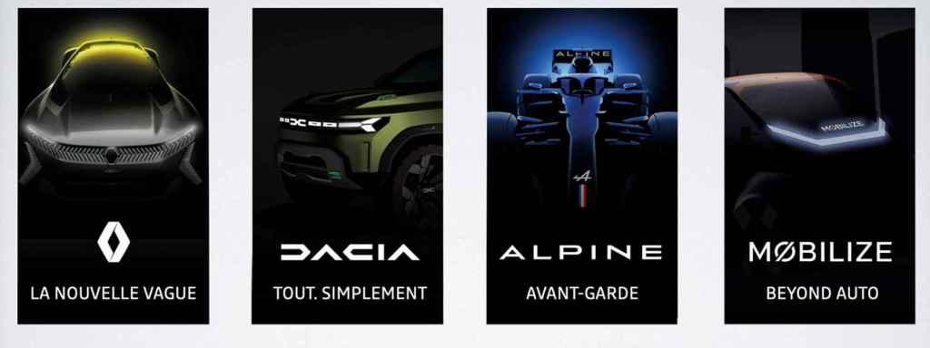 Marcas del grupo Renault.