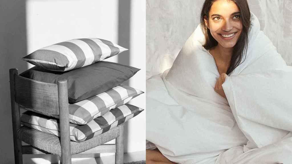 La nueva línea ideada para el hogar de Mango, está inspirada en el mediterráneo.