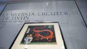 La portada de Tintín que rompe el récord.