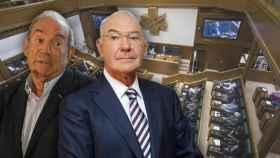 Carlos Garaikoetxea y José Antonio Ardanza, exlehendakaris que reciben el complemento a la jubilación vitalicio.