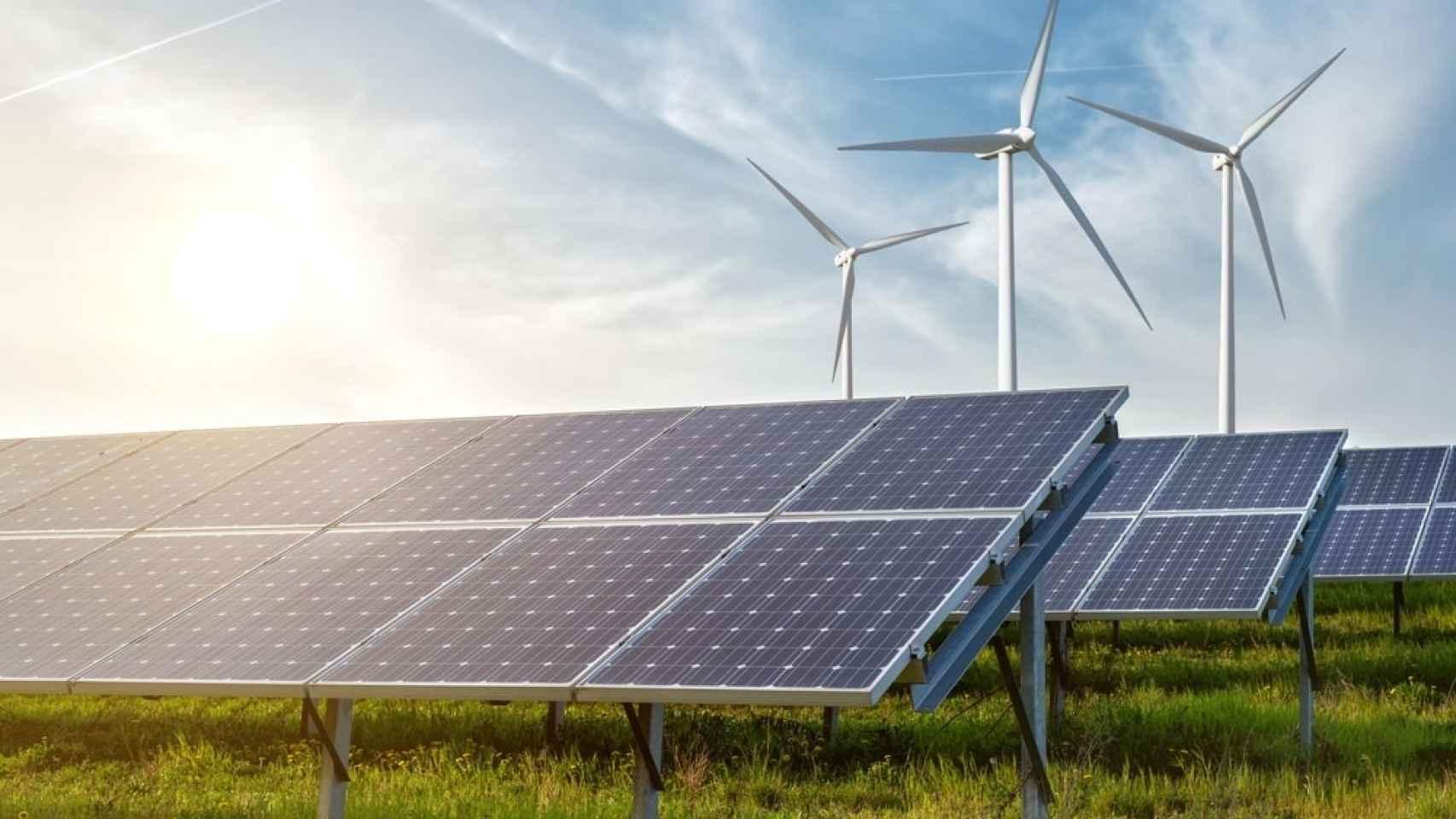Imagen referencial sobre energías renovables.