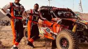 Ricardo Ramilo y Xavi Blanco en el Dakar