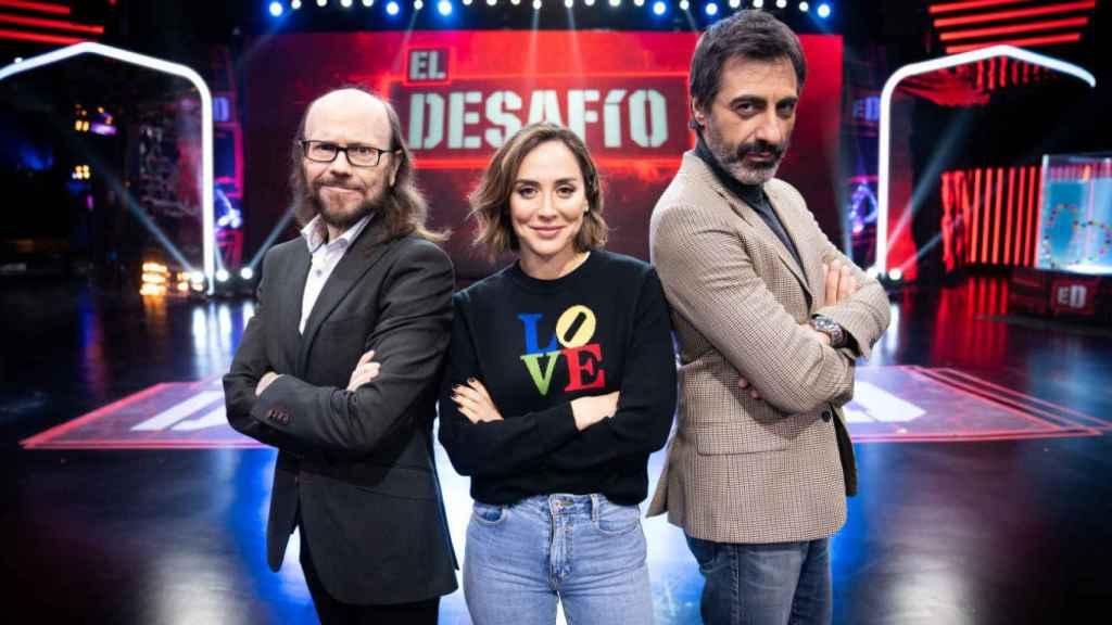 Santiago Segura, Tamara Falcó y Juan del Val conforman el jurado del programa.