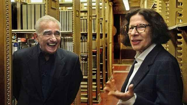Scorsese con Fran Lebowitz.