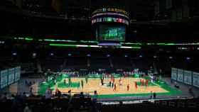 TD Garden, pista de los Boston Celtics
