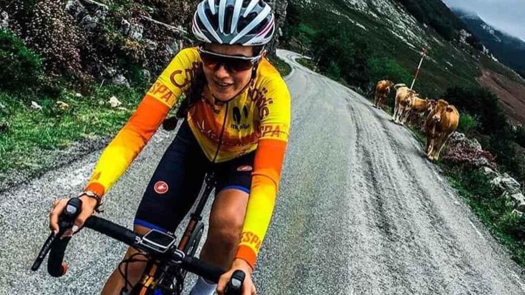 Enara López, ciclista profesional. Foto: Instagram (enaraalopez)