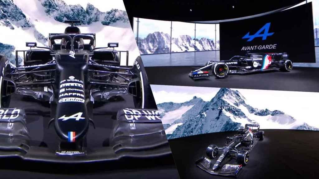 El nuevo Alpine F1 de Fernando Alonso, antes de conocer sus colores definitivos