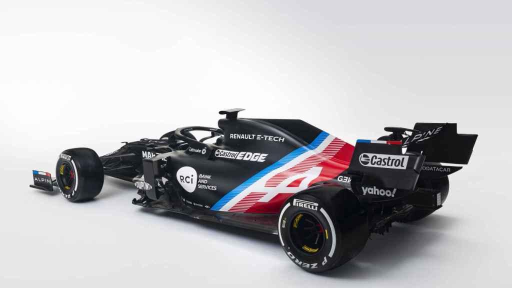 El nuevo Alpine F1 de Fernando Alonso, en su primer diseño
