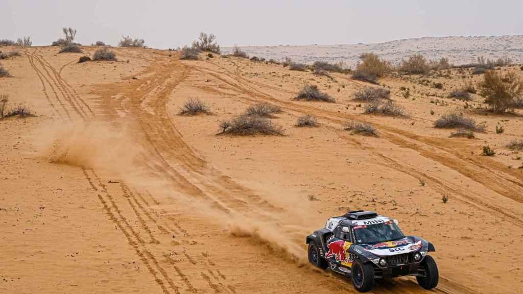 Peterhansel en el Rally Dakar 2021