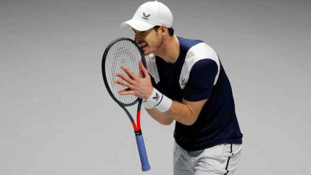 Andy Murray, en la Copa Davis de 2019