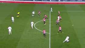 Fuera de juego en el posible empate de Karim Benzema