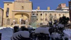 La gran nevada sobre la localidad guadalajareña de Molina de Aragón