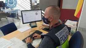 Un agente de Policía Nacional en una imagen de archivo.