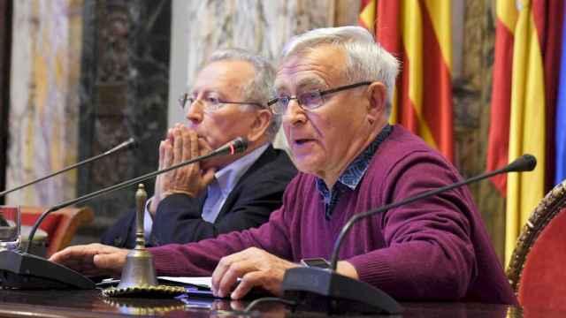 El Alcalde de Valencia, Joan Ribó, en una imagen de archivo. EE