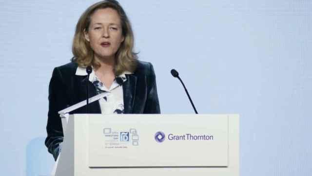 La vicepresidenta económica del Gobierno, Nadia Calviño, en el Spain Investors Day 2020.