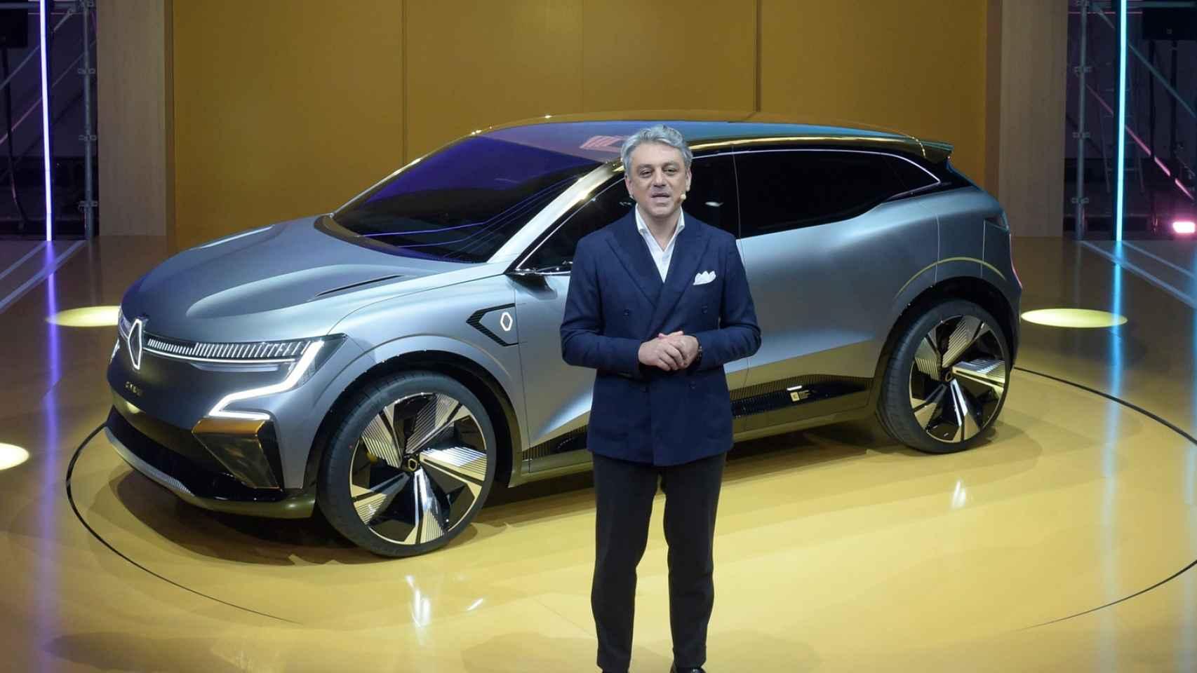 Luca de Meo, nuevo CEO del Grupo Renault (Renault, Dacia y Alpine).