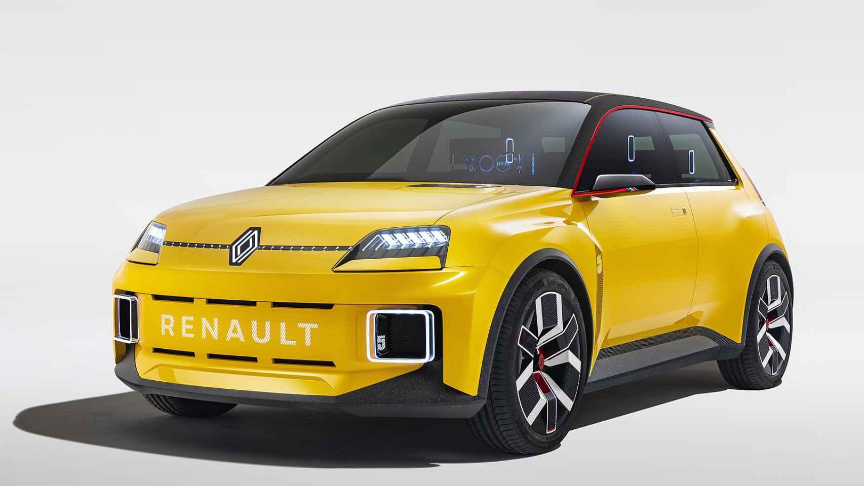 Imagen del Renault 5 prototipo.