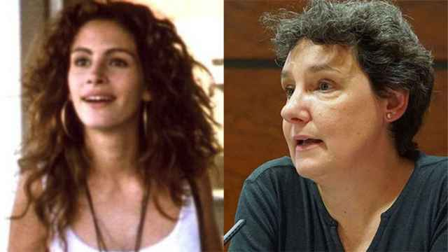 Julia Roberts, en Pretty Woman, y Beatriz Gimeno.