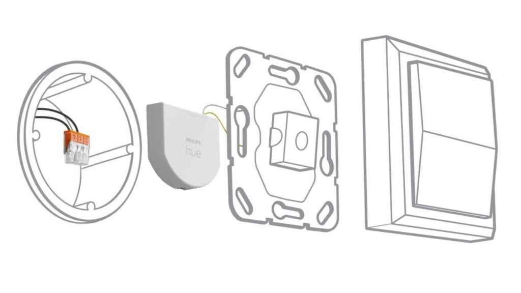 El dispositivo de Philips Hue para crear interruptores inteligentes