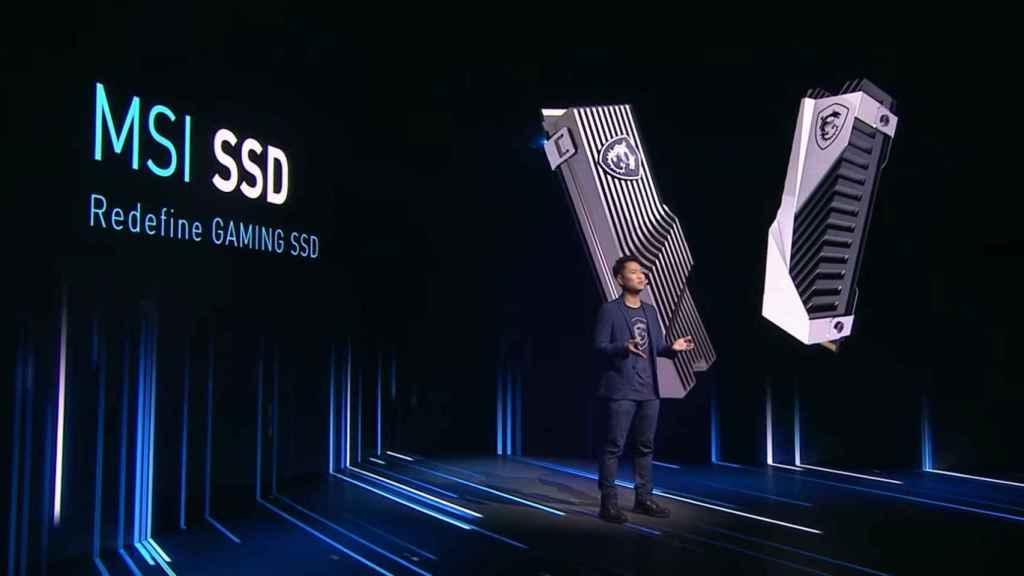El primer SSD de MSI