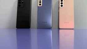 Los nuevos Samsung Galaxy S21.