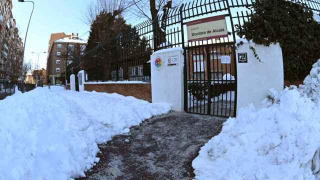 El colegio Doctora de Alcalá, en la localidad madrileña de Alcalá de Henares.
