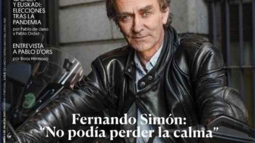 Fernando Simón, en la portada de 'El País Semanal'.