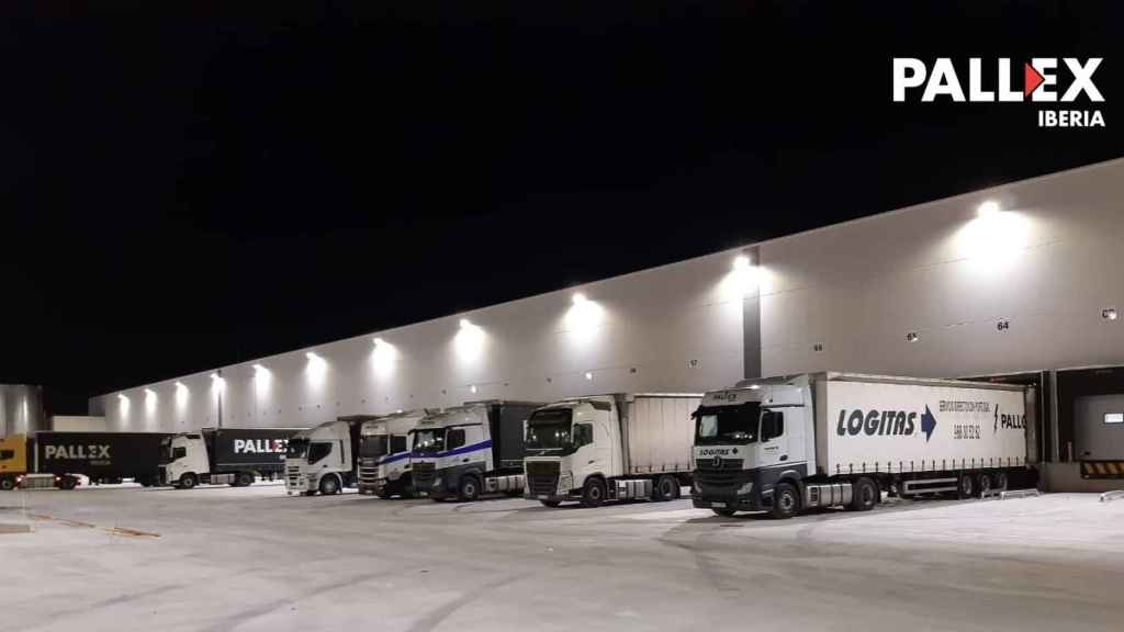 Central logística de Pallex Iberia en San Fernando Henares