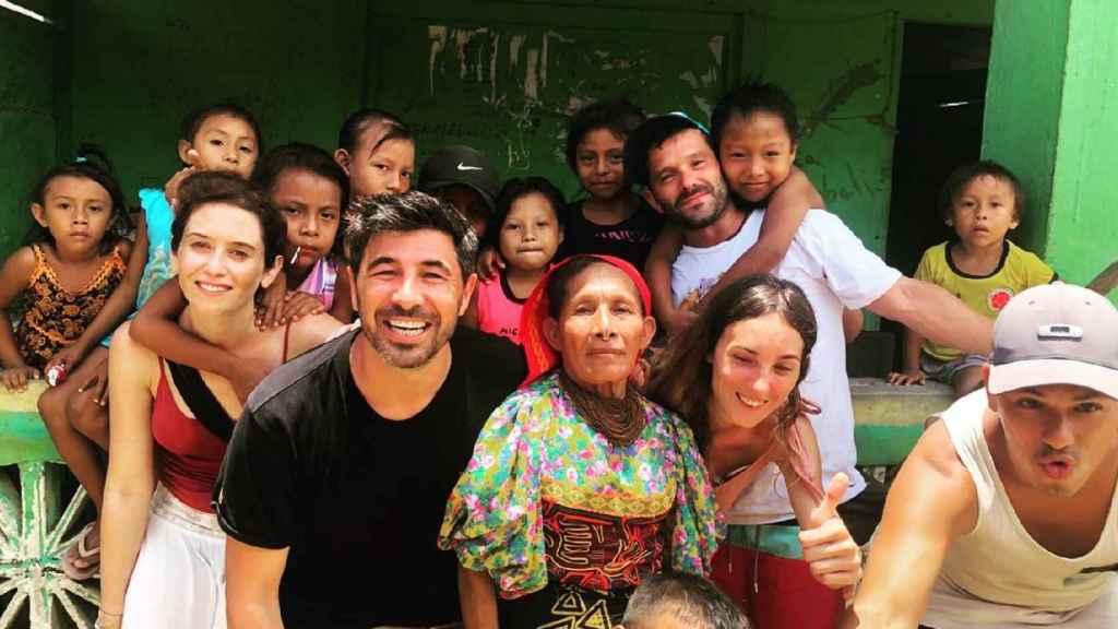 Isabel Díaz Ayuso y Jairo Alonso en Panamá.