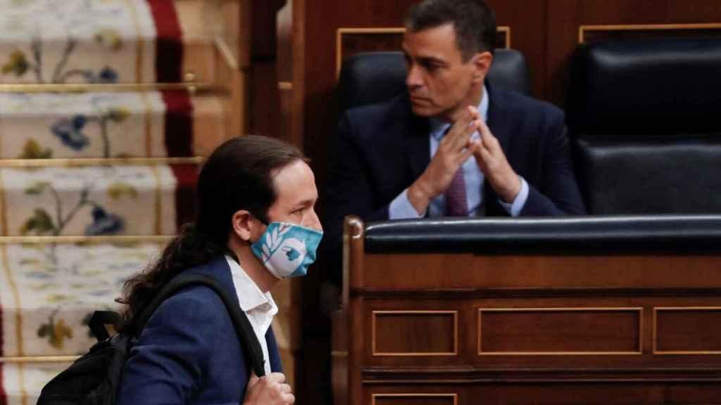 Sánchez e Iglesias.