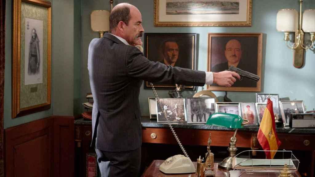 Beltrán acusará a Manolita de intentar matar a su hijo.