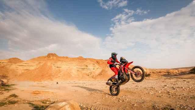 Kevin Benavides, en el Rally Dakar 2021