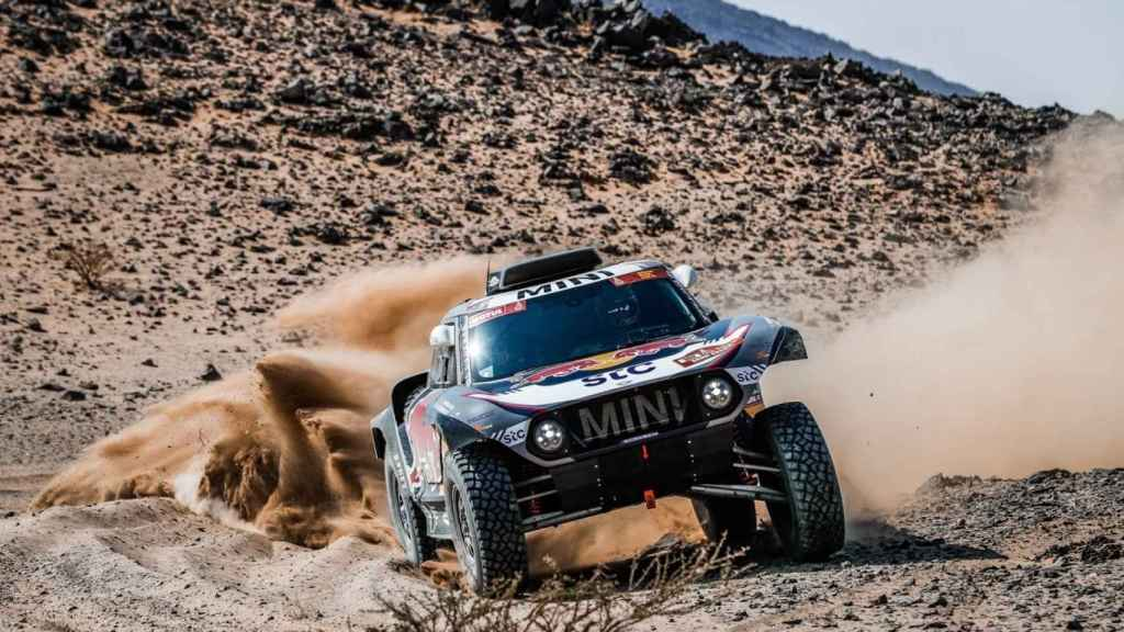 Stephane Peterhansel, durante el Rally Dakar 2021