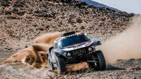 Stephane Peterhansel, durante el Rally Dakar 2021