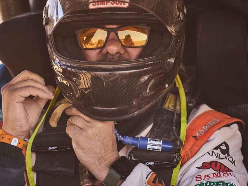 Xavier Blanco en el Rally Dakar 2021