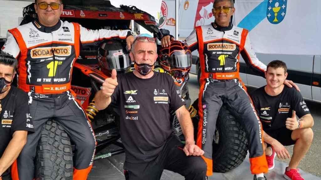 Xavier Blanco, Ricardo Ramilo y el equipo Buggy Masters