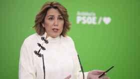 La secretaria general del PSOE andaluz, Susana Díaz.